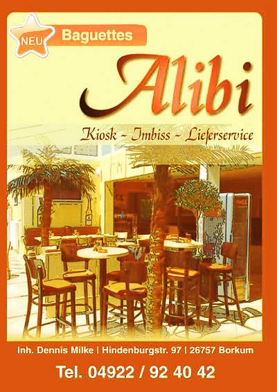 Lieferkarte Alibi